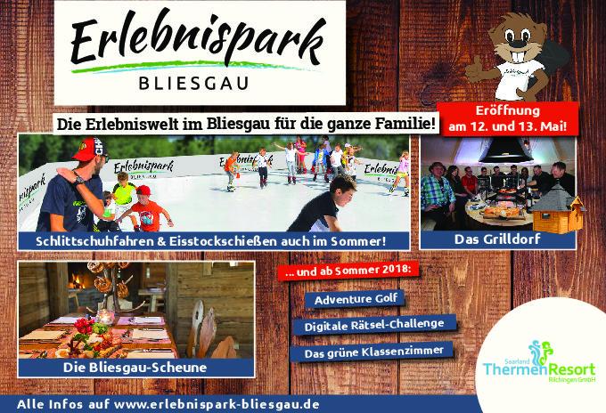 Eröffnung des Erlebnispark Bliesgau