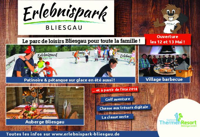 Inauguration du parc de loisirs Bliesgau