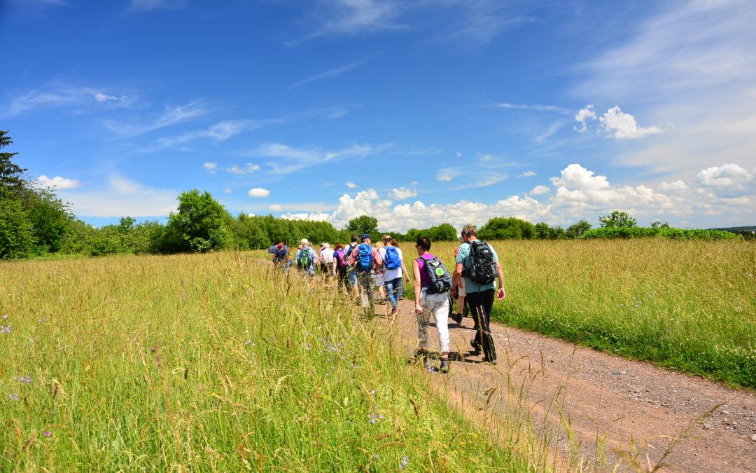 Wanderung durch das Biosphärenreservat Bliesgau